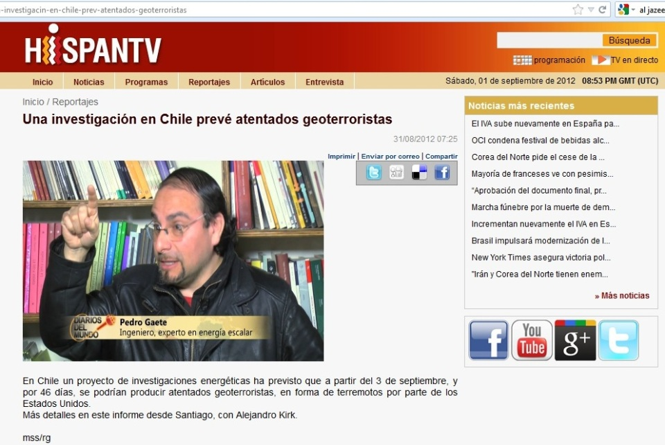 Hispatv Pedro Gaete