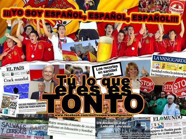 Espanoles-tontos