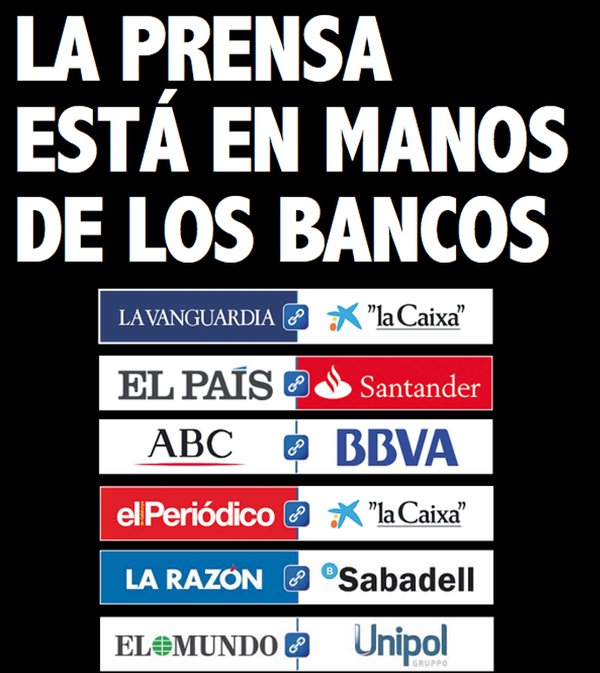 prensa española mentirosa