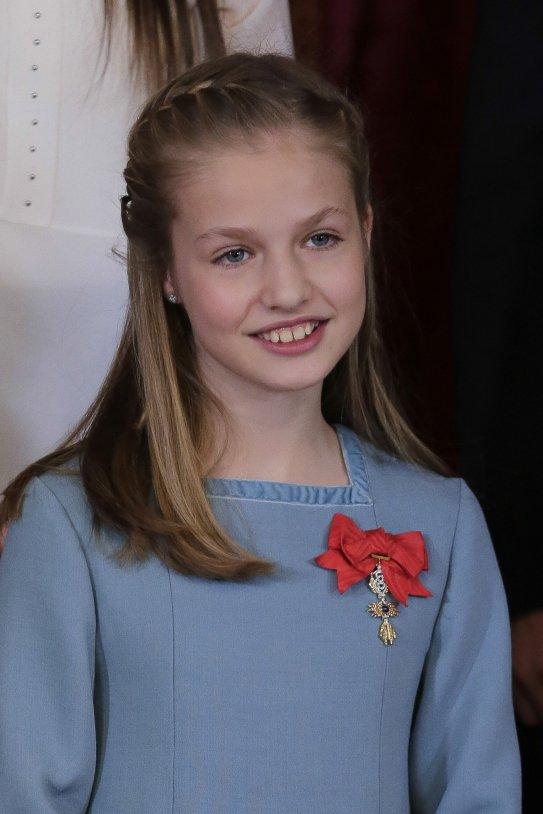 """La princesita apunta maneras: Leonor en la escuela: """"Ahora tendreis que hacerme la reverencia"""""""